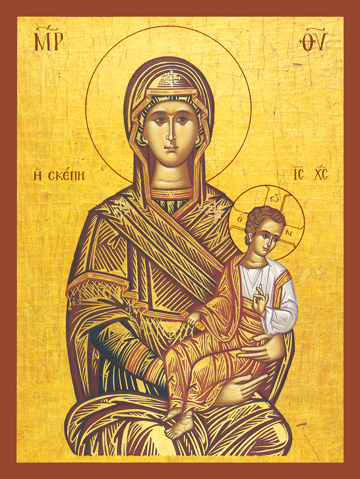 "Icon of the Theotokos ""the Protector"" – T12"
