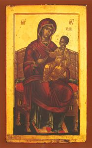Icon of the Panagia Enthroned – T13