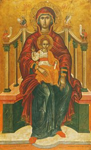Icons of the Theotokos Enthroned – T14