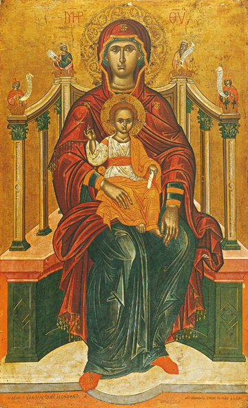 Theotokos Enthroned – T14