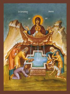 Icon of the Life-Giving Spring – T16
