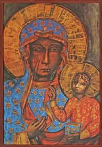 Icon of the Theotokos of Czestochowa – T21
