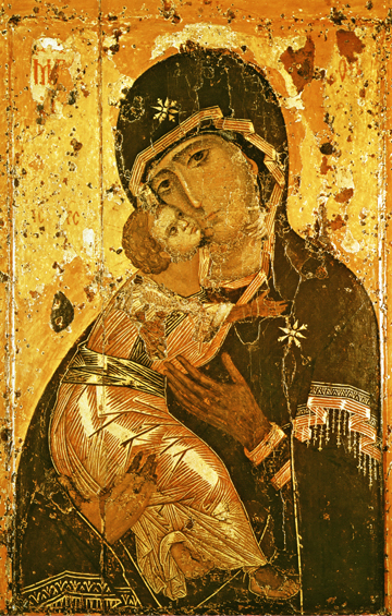 Icon of the Theotokos of Vladimir – T22