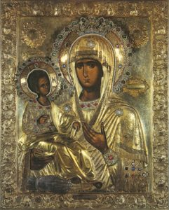 "Icon of the Theotokos ""of Three Hands"" – T27"