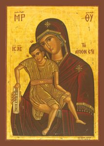 "Icon of ""Axion Esti"" (""It is truly meet"")"