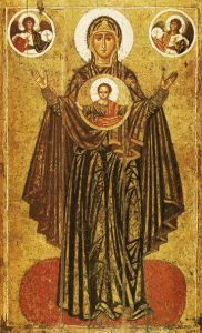 Icon of the Theotokos of the Sign – T30