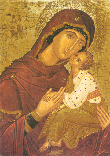 Icon of the Sweet-Kissing (Benaki) – T38
