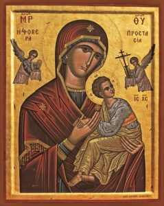 "Icon of the Panagia ""Formidable Protection"" – T47"