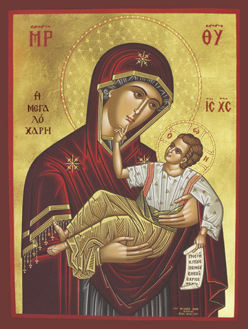 "Icon of the Theotokos ""Great Grace"" – T56"