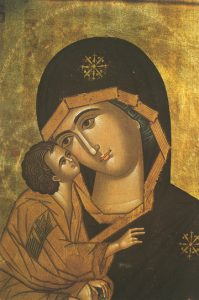 Theotokos of the Don (Detail of T4) - T05