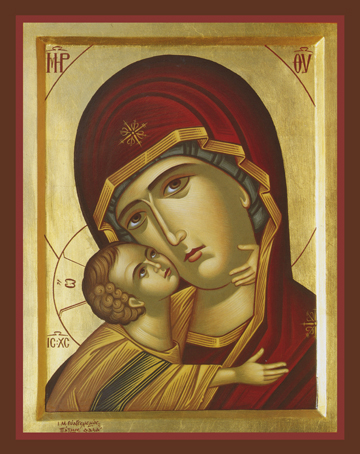 "Icon of the Theotokos ""Tender Mercy"" – T60"