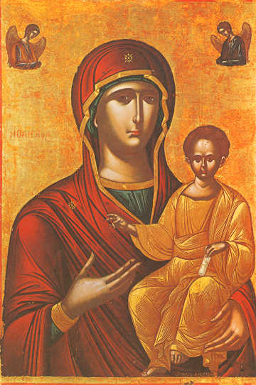 "Icon of the Theotokos ""Hodegetria"" – T62"