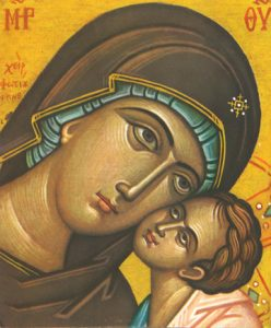 "Icon of the Theotokos ""Sweet-Kissing""– T07"