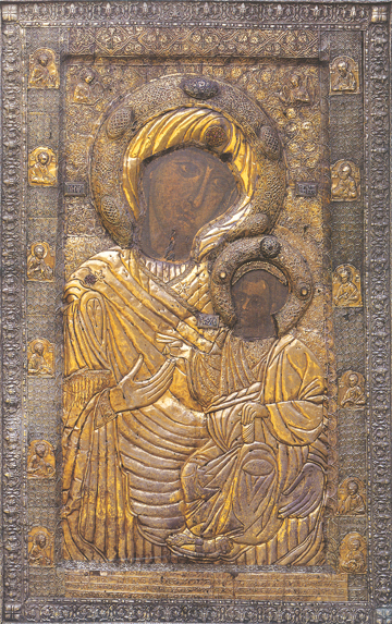 "Icon of the Theotokos ""Portaitissa"" (Iveron) – T81"