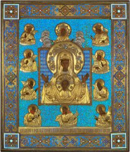 "Icon of the Theotokos ""Kursk-Root"" – T84"