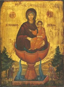 Icon of the Life-Giving Spring – T08
