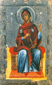 Icon of the Theotokos (from Annunciation) – T98