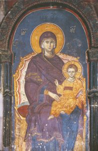 Icon of the Virgin Enthroned – T99