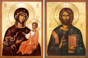 Icons of the Most Holy Mother of God & Lord Jesus Christ – T61 & J54