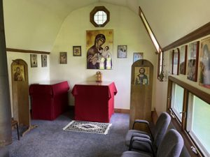 Mother of God Chapel in Back Skete Valley